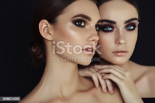 istock Portrait of a fresh and lovely women 508624030