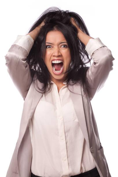 Job stress und Frust – Foto