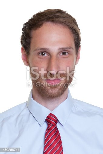 istock Portrait of a german businessman with beard 480286744