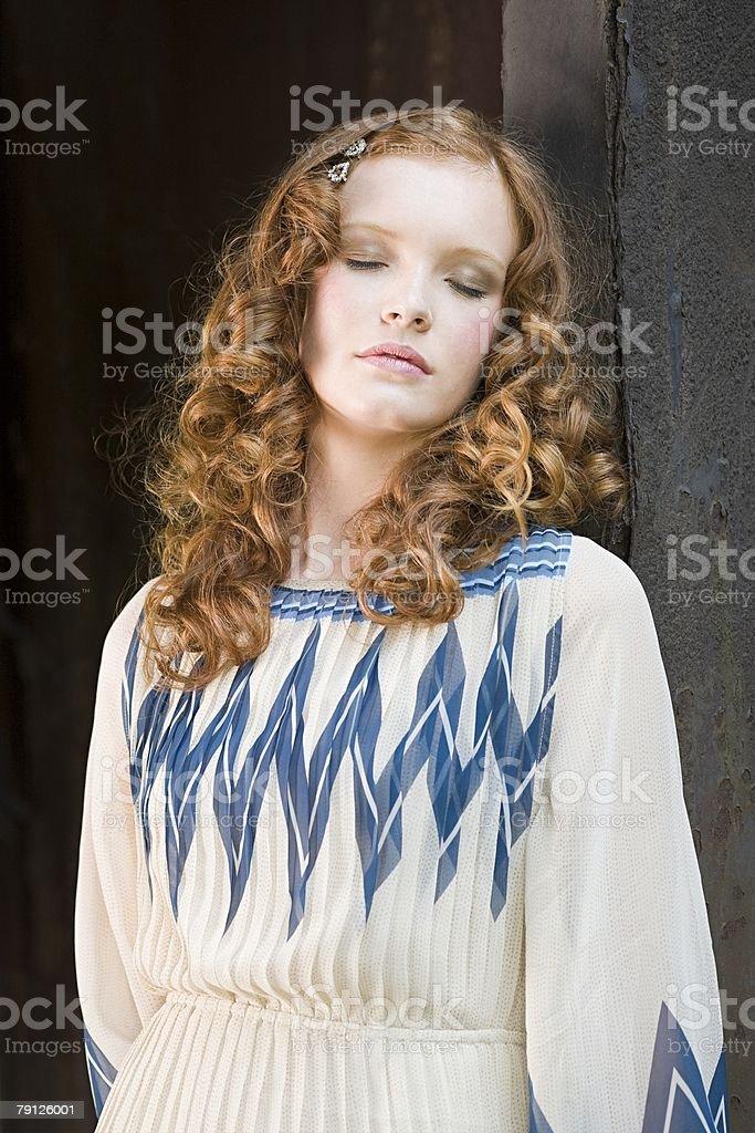 Porträt von ein Mädchen Lizenzfreies stock-foto