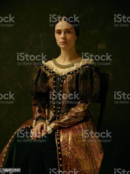 Portrait of a girl wearing a retro princess or countess dress picture id1064211542?b=1&k=6&m=1064211542&s=612x612&h=7d0ohbchpx8y1iq50mel94sf4m87tu0gbpf9hbbvbji=