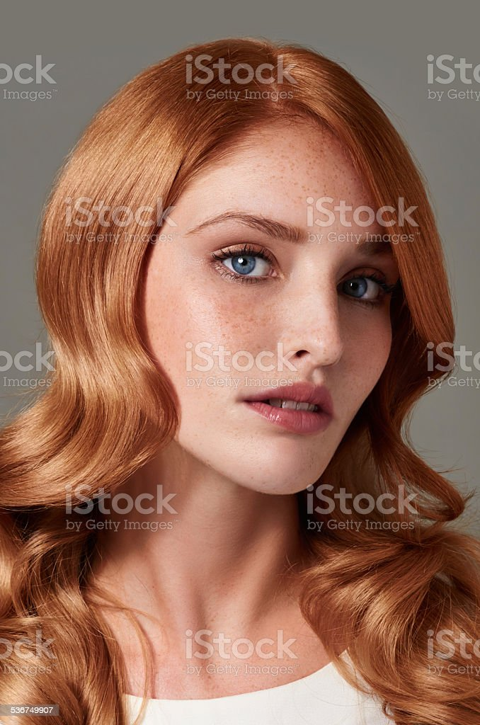 Striking beauty stock photo