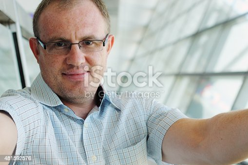 istock portrait of a handsome 35 years old man 481592576