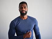 istock Portrait of a Handsome Black Man 1289461328