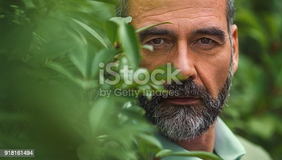 611630440 istock photo Portrait of a handsome mid adult man. 918161494