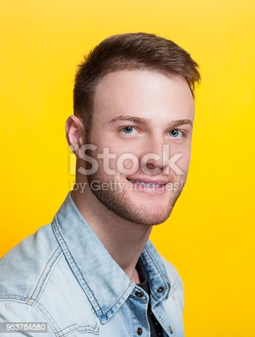 932956896istockphoto Portrait of a handsome young man in a barbershop 953754580