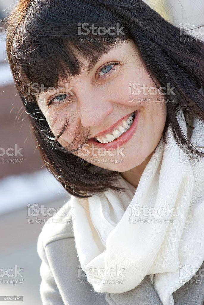 인물 사진 행복함 노인 여성 royalty-free 스톡 사진