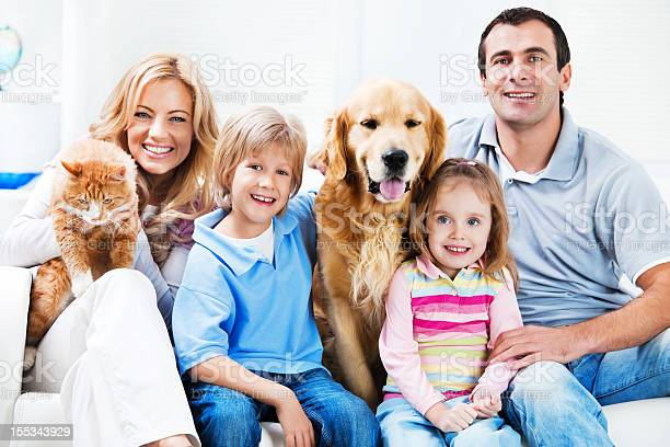 Portrait of a happy family with pets picture id155343929?b=1&k=6&m=155343929&s=612x612&h=f3qswxj84tp2xhxzr50krj7sc2stmnrvvrcct0dfuue=