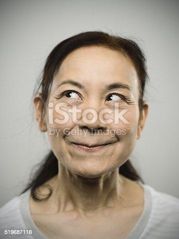 istock Portrait of a happy senior japanese woman. 519687116