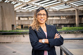 istock Portrait of a hispanic businesswoman 1272451402