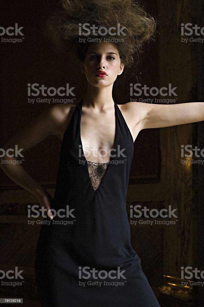 Portrait of a hispanic woman 免版稅 stock photo