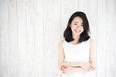 日本女性のポートレート