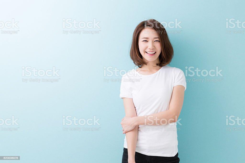 Portrait d'une femme japonaise photo libre de droits
