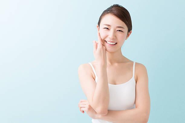 日本女性のポートレート ストックフォト