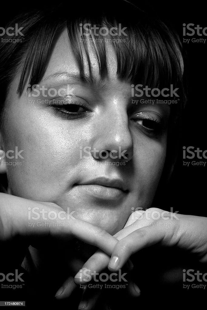 Portrait of a Latvia girl royalty-free stock photo