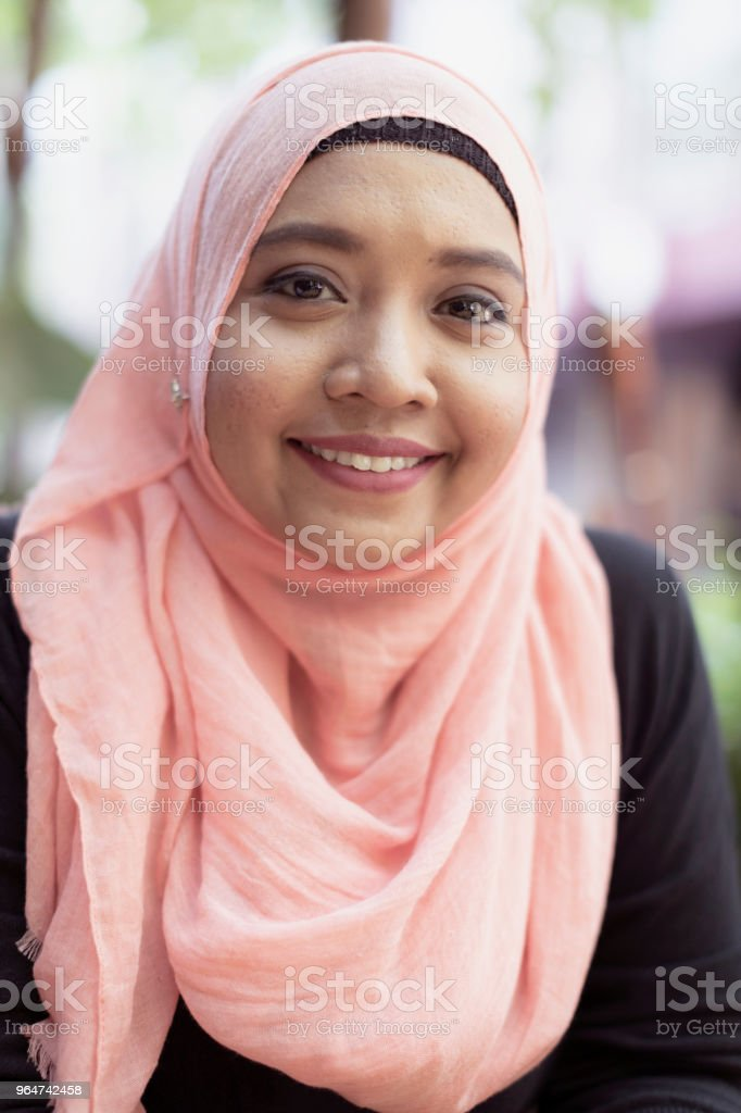 Portrait of a Malaysian Girl royalty-free stock photo