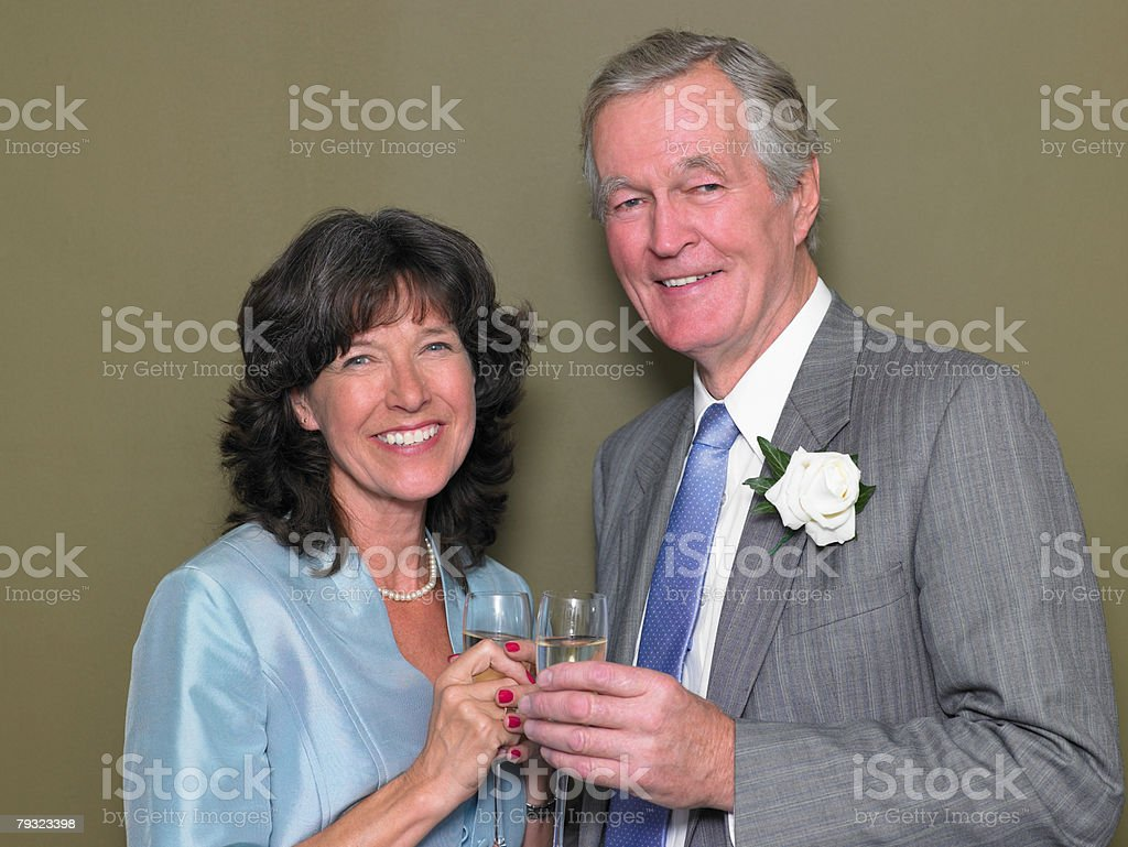 Portrait of a man and a woman 免版稅 stock photo