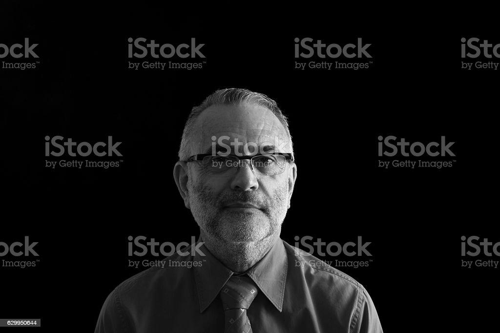 Portrait of a man bildbanksfoto