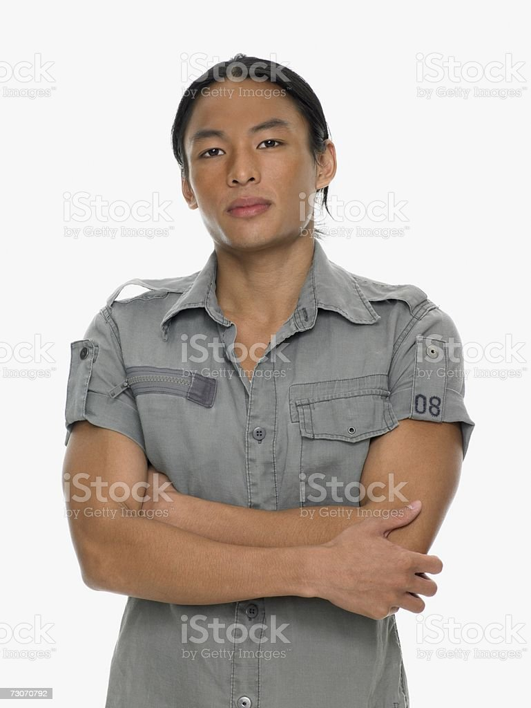 Retrato de um homem foto de stock royalty-free