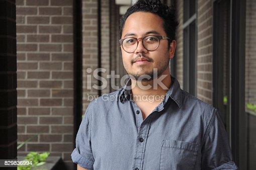 istock Portrait of a Man 829836994