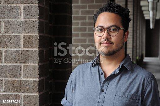istock Portrait of a Man 829837024