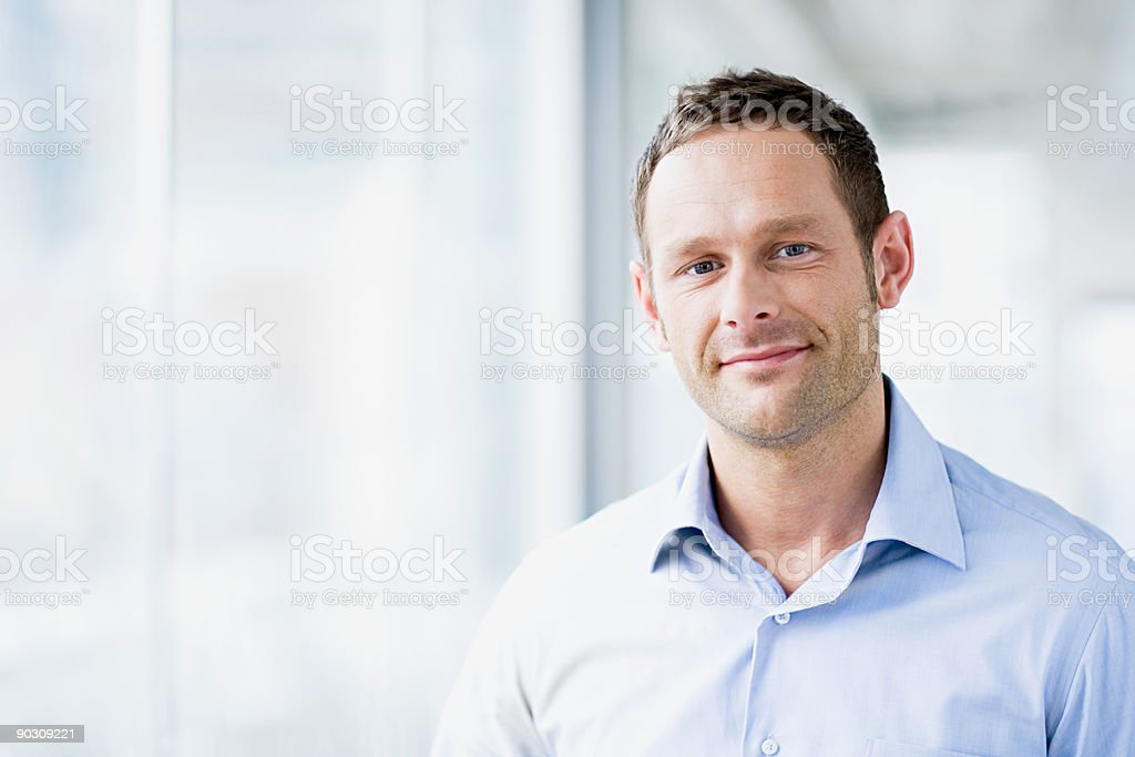 Porträt eines Mannes - Lizenzfrei 30-34 Jahre Stock-Foto