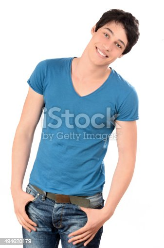 1045886560 istock photo Portrait of a man smiling. 494620179
