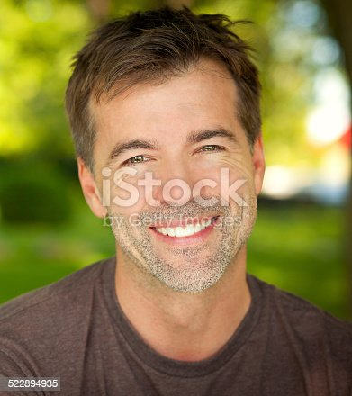 637538262istockphoto Portrait Of A Mature Active Man Smiling At The Camera 522894935