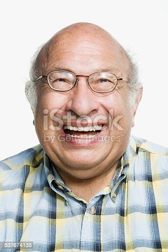 Portrait of a mature adult man