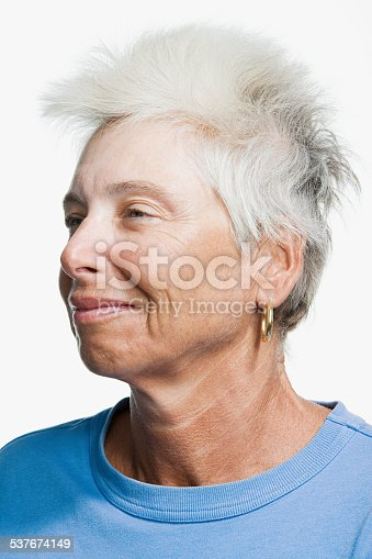 istock Portrait of a mature adult woman 537674149