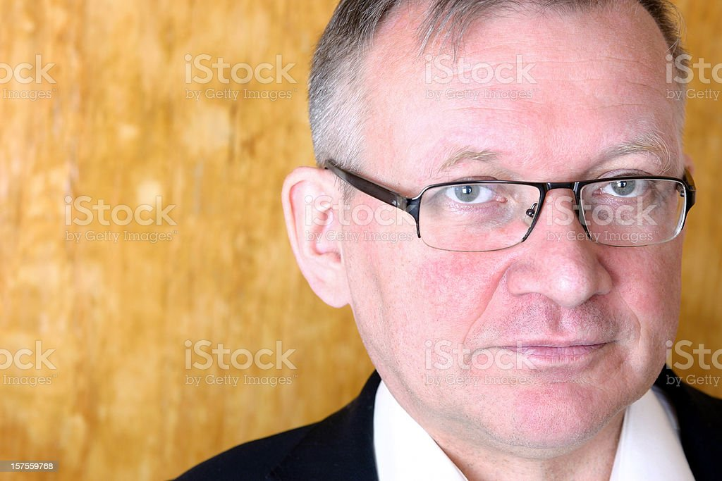 Portrait of a mature businessman royalty-free stock photo