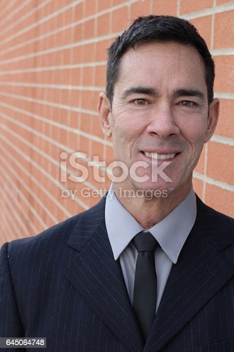 825083248istockphoto Portrait Of A Mature Businessman Smiling 645064748