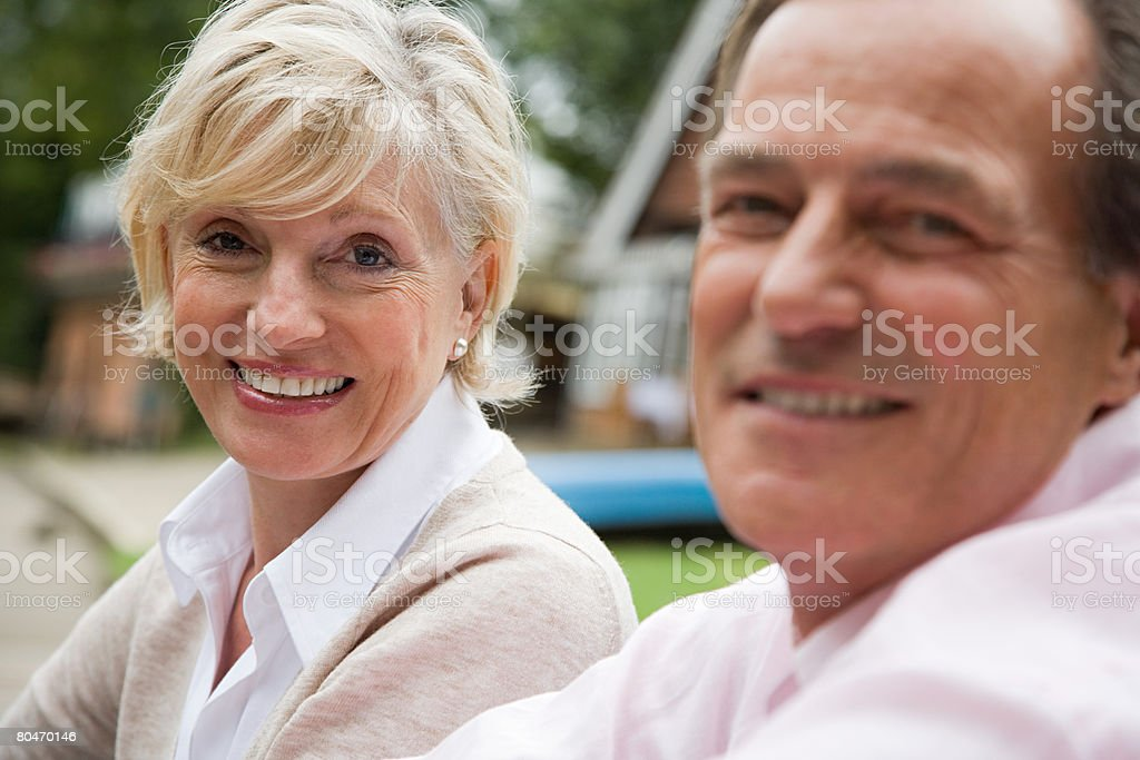 Portrait of a mature couple 免版稅 stock photo