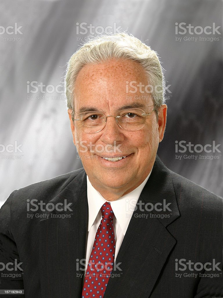 Portrait of a mature executive Businessman stock photo