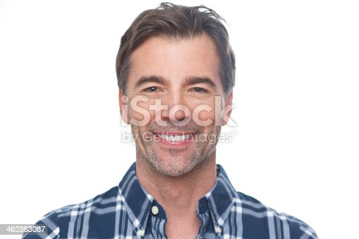 637538262istockphoto Portrait Of A Mature Man Smiling At The Camera 462363087