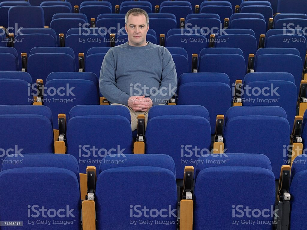 Portrait of a mature student royalty-free stock photo