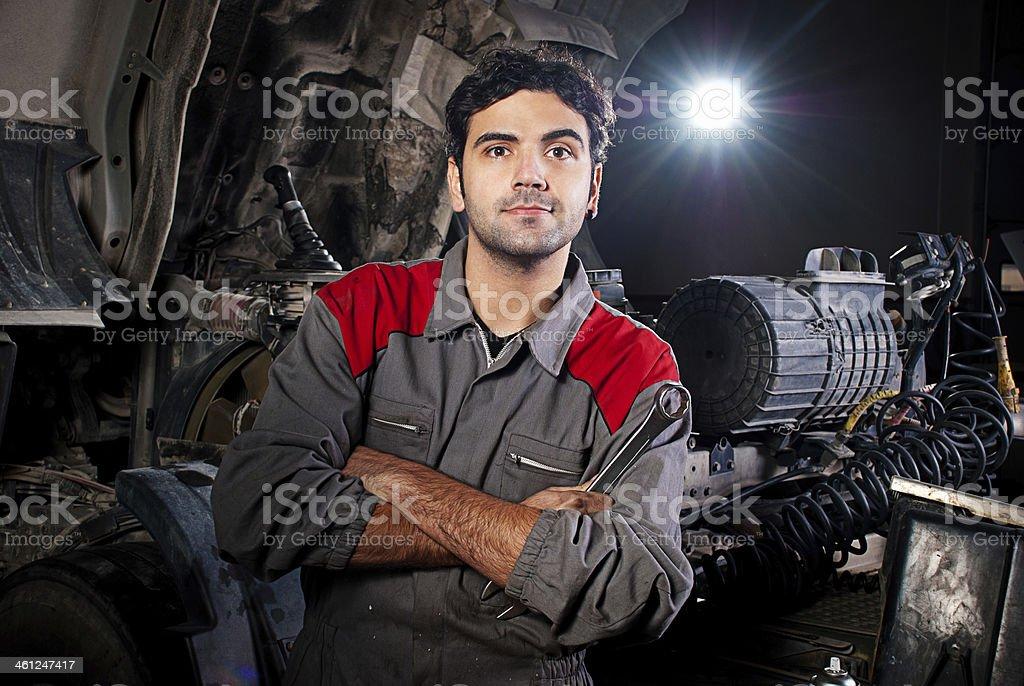 Porträt der Mechaniker – Foto