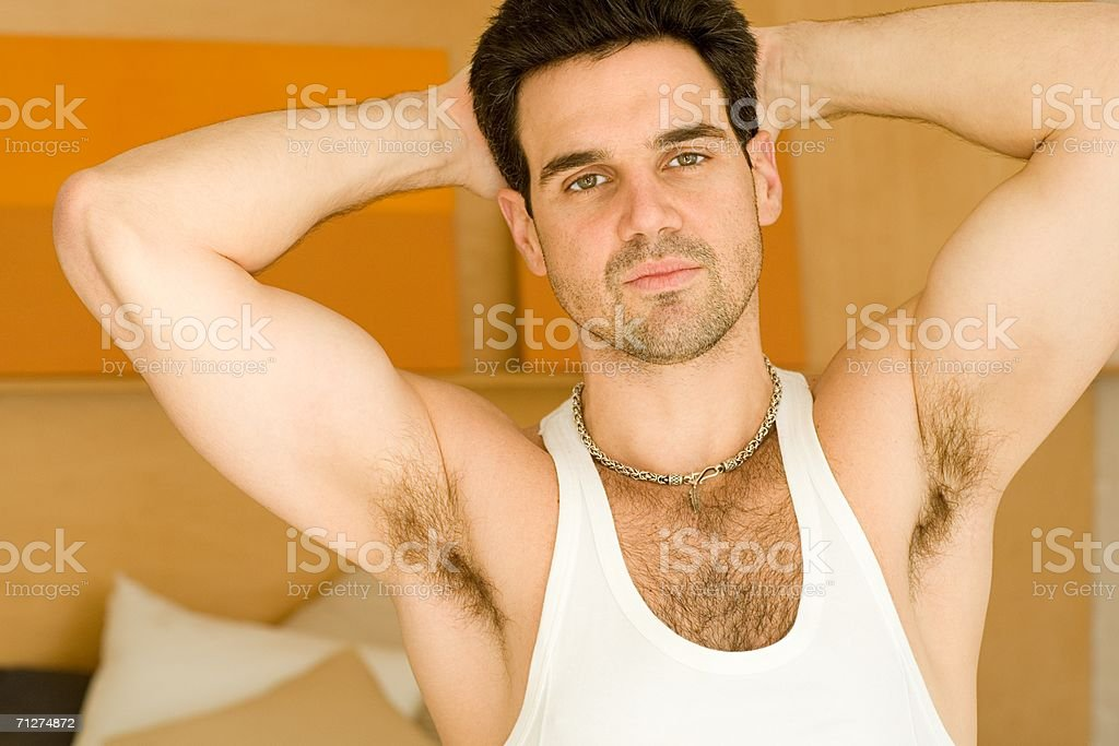 Portrait of a mid adult man royalty-free stock photo