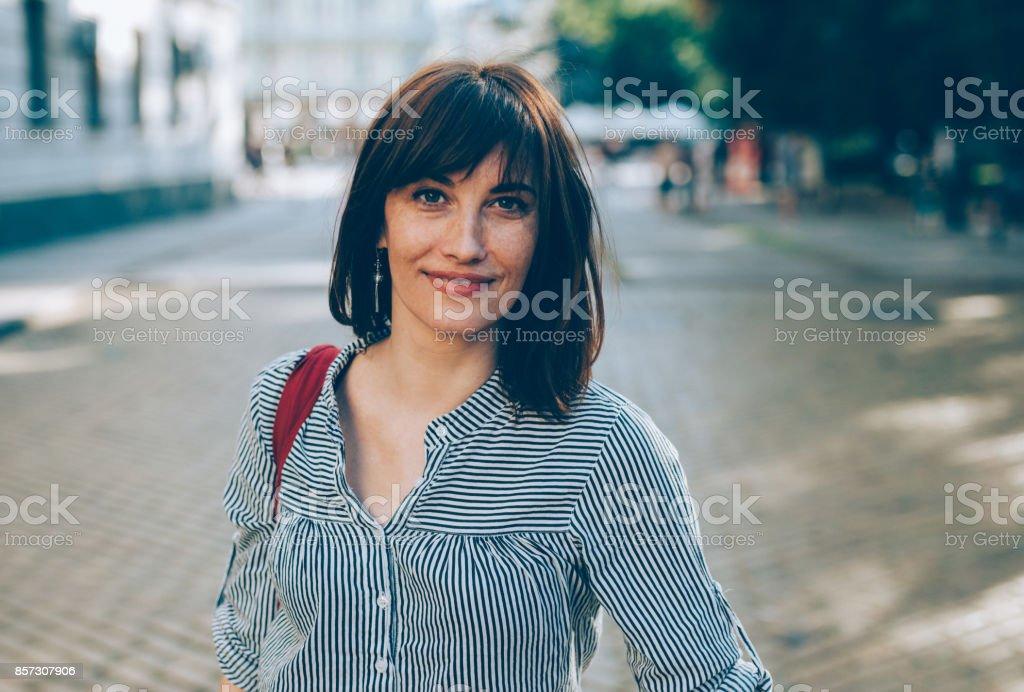 Porträt von einem middle aged Frau – Foto
