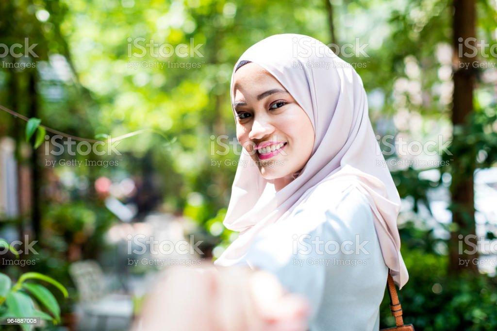 Portrait of a Modern Malaysian Girl royalty-free stock photo