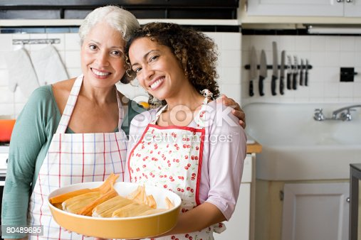 istock Portrait of a mother and daughter 80489695