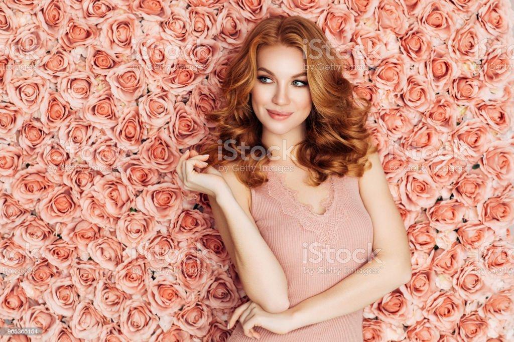 Portrait of a nice looking woman zbiór zdjęć royalty-free