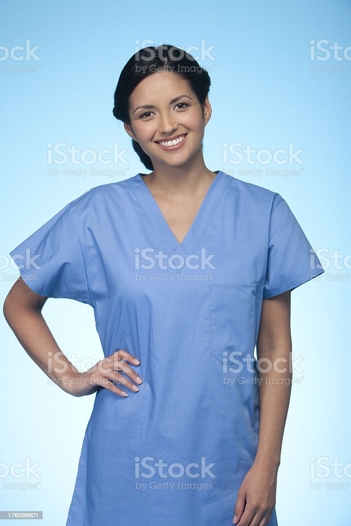 Portrait of a Nurse royalty-free stock photo