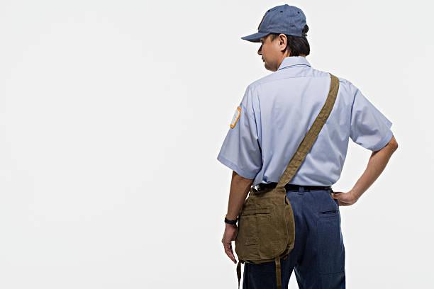 인물 사진 슈발의 - postal worker 뉴스 사진 이미지