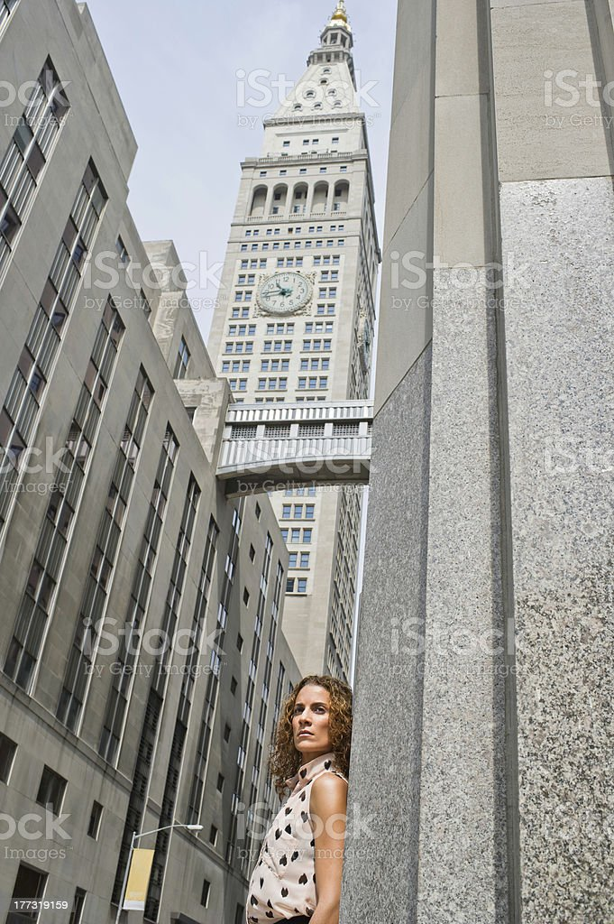 Portrait of a professional woman stock photo