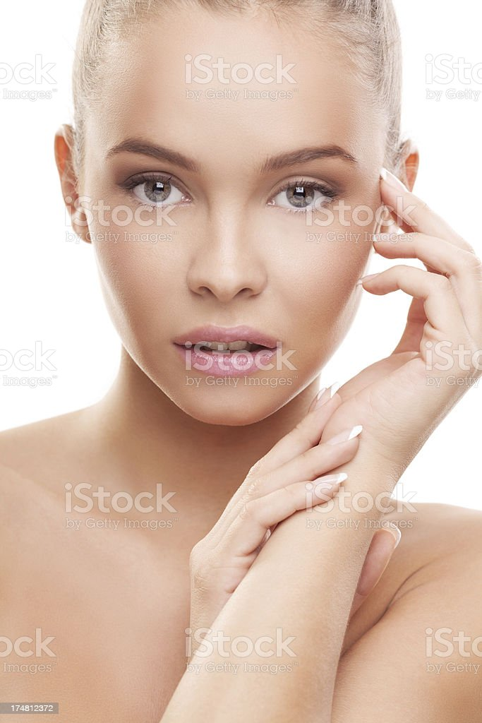 Portrait of a pure beauty royalty-free stock photo