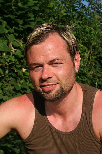 Porträt eines rakisk Mann mittleren Alters – Foto