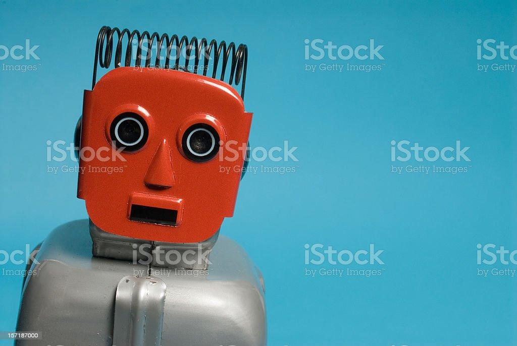 Portrait of a Robot stock photo