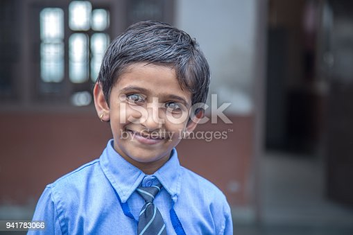 941782244 istock photo Portrait of a school girl smiling 941783066