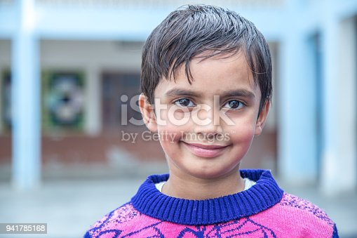 941782244 istock photo Portrait of a school girl smiling 941785168